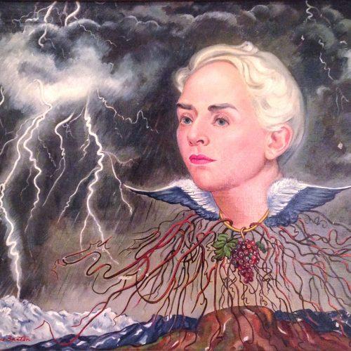 Macena Barton - Portrait of Francis Badger
