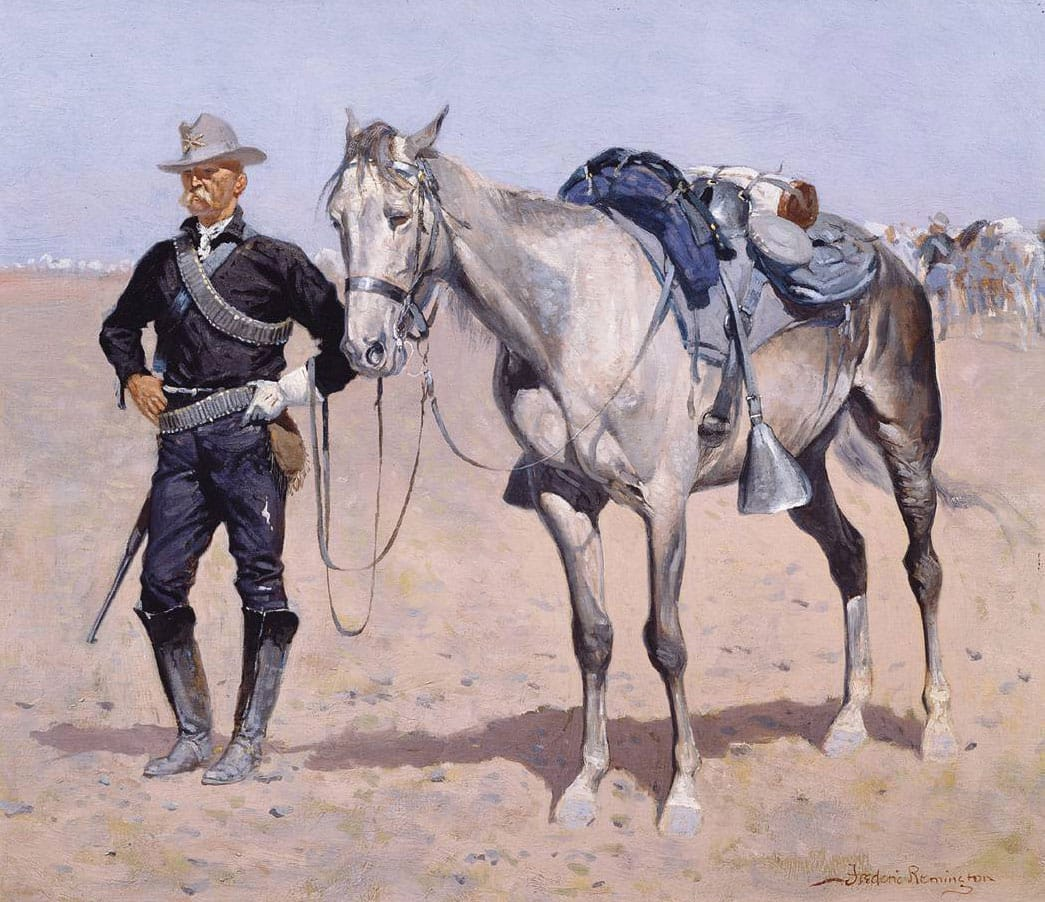 Remington - The Trooper and His Mare