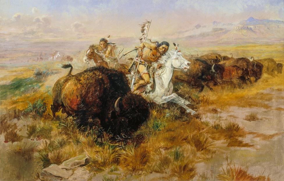 Russell - Buffalo Hunt